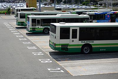 観光バス向け一時駐車場のご案内イメージ
