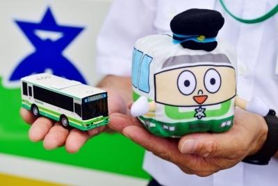 高槻市営バスグッズ販売イメージ