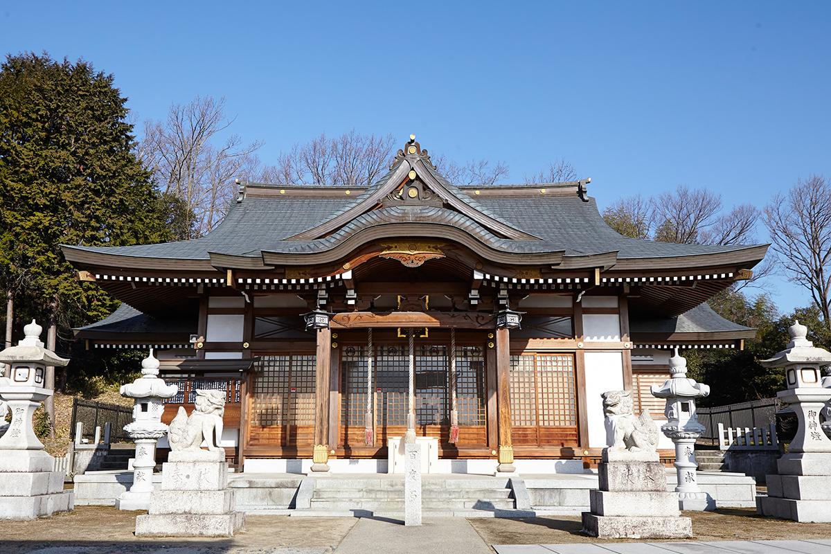 闘鶏野神社・闘鶏山古墳